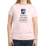Attitude is Women's Light T-Shirt