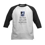 Attitude is Kids Baseball Jersey