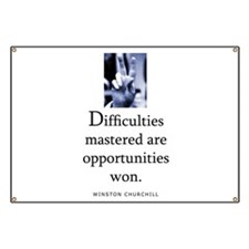 Difficulties Banner