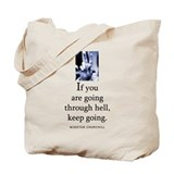 Through hell Tote Bag