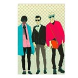Hipster fashion Postcards (Package of 8)