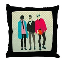 Cute I love my skinnies Throw Pillow