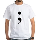 Semi-Colon Shirt