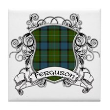 Ferguson Tartan Shield Tile Coaster