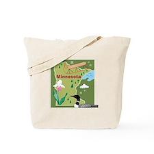 Minnesota Map Tote Bag