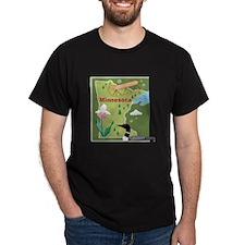 Minnesota Map T-Shirt