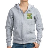 Minnesota Map Zipped Hoody