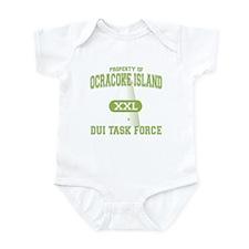 Ocracoke Island DUI Task Force Infant Bodysuit