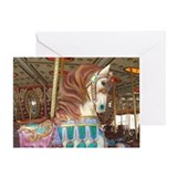 Tassels Carousel Horse Greeting Card