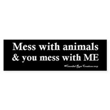 Animal Protector Bumper Bumper Sticker