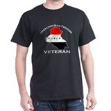 Iraqi Freedom Vets Pride Wear Black T-Shirt