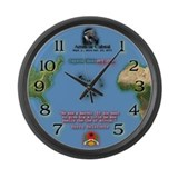 "Discover the beauty CV 17"" Wall Clock"