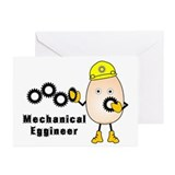 Mechanical Eggineer Greeting Cards (Pk of 10)