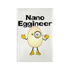 Nano Eggineer Rectangle Magnet