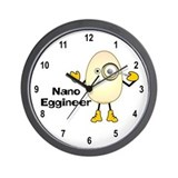 Nano Eggineer Wall Clock