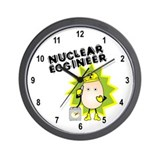 Nuclear Eggineer Wall Clock