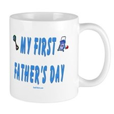 My First Fathers Day New Dad Mug