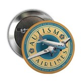 "Autism Airlines 2.25"" Button"