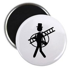 "chimney sweeper icon 2.25"" Magnet (100 pack)"