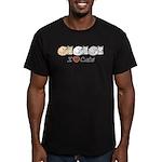 I Heart Cats Men's Fitted T-Shirt (dark)