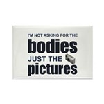 """Just the Pictures"" Rectangle Magnet (100 pack)"