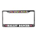 Ballet Dancer License Plate Frame