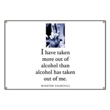 Out of alcohol Banner