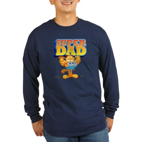 Super Dad! Long Sleeve Dark T-Shirt