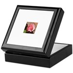 Pink Rose Keepsake Box
