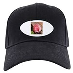 Pink Rose Black Cap