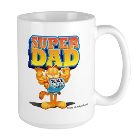 Super Dad! Large Mug