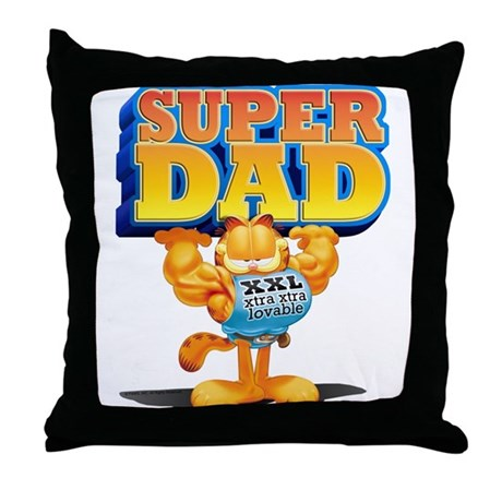 Super Dad! Throw Pillow