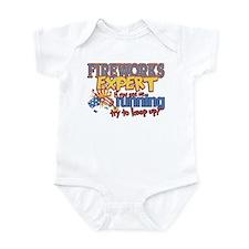 Fireworks Expert Infant Bodysuit