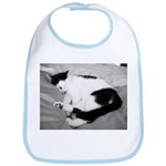 Sleepy Kitty Bib