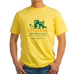 Pets in Condos Yellow T-Shirt
