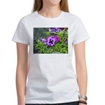 Purple Pansy Women's T-Shirt