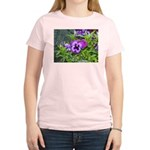 Purple Pansy Women's Light T-Shirt