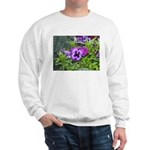 Purple Pansy Sweatshirt