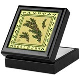 Country Herbs - Rosemary Keepsake Box