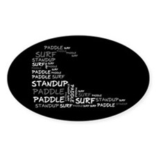 Wordup Wave Black Oval Decal