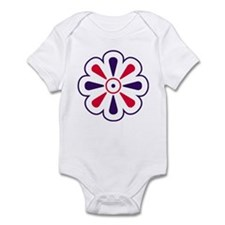 Independence Flower Infant Bodysuit