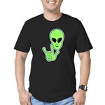 ILY Alien Men's Fitted T-Shirt (dark)