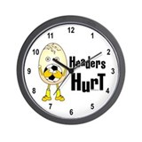 Headers Hurt Wall Clock