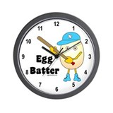 Egg Batter Wall Clock