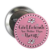 "Girlfriend Therapy 2.25"" Button"