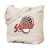Lacrosse Rules Tote Bag