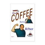 Coffee! Mini Poster Print