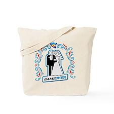 Art Deco Wedding Icon Tote Bag