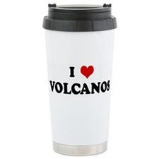 I Love VOLCANOS Ceramic Travel Mug