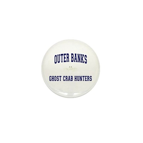 Ghost Crab Hunters Mini Button